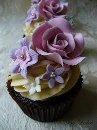 Wedding Cupcakes - Rose Cupcake - Vintage Style #1988109 - Weddbook
