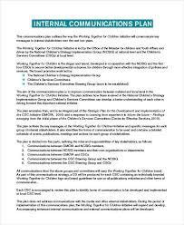 Free Communication Plan Templates 37 Free Word Pdf Documents