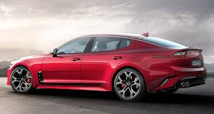 2018 kia automobiles. interesting automobiles 2018 kia stinger sport sedan rear in kia automobiles a