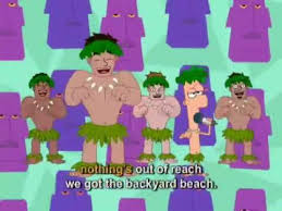 Phineas And Ferb  Backyard Beach  Music Video With Lyrics Phineas And Ferb Backyard Beach Lyrics