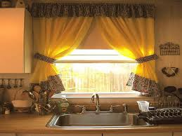 Kitchen Curtain Ideas For Large Windows Batchelor Resort Home Enchanting Kitchen Curtain Ideas