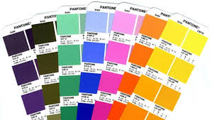 Pantone Code Chart Pantone Color And Spot Color Inks In Printing