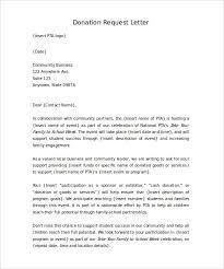 donation letter format apparel dream inc