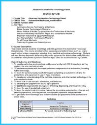 Resume Writing Course Syllabus