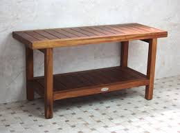 Teak Bathroom Bench