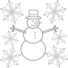 Small Picture Simple Snowflake Coloring Pages Printable Coloring Coloring Pages
