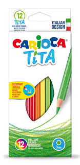 Купить Упаковка <b>карандашей цветных CARIOCA Tita</b> 42793 ...