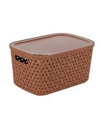 wilko rtg basket with lid 2 3l