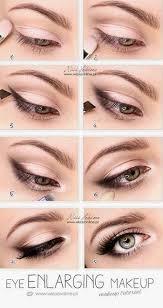 eye enlarging make up tutorial