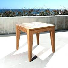 ikea white outdoor side table suncast elements resin with storage umbrella hole decorating stunning