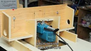 How To Horizontal Router 4 In One Operations Wmv Youtube