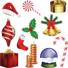 Christmas Decoration Design Christmas decoration set vector Vector Graphics Blog 3