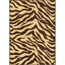 well woven kings court brown area rug 3 3 x 4 7