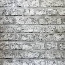 rustic grey brick wallpaper from arthouse 889606