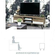 Tv Stand Size Chart Stand To Raise Tv Height Aphros Com Co