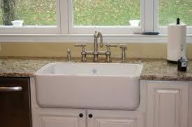 shaw farmhouse sink. Shaw\u0027s Farm Sink And Graff Bridge Faucet Via Www.goldenboysandme.com Shaw Farmhouse
