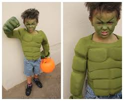 diy hulk superhero costume for kids