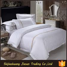 custom high thread count white 100 cotton bed linen turkey