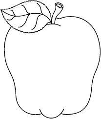 Manzanas Para Colorear Dibujos De Manzanas Para Colorear