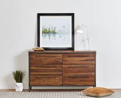 scandinavian design bedroom furniture wooden. scandinavian designs incorporate rustic industrial style into your bedroom with the insigna double dresser crafted from solid american poplar wood and design furniture wooden