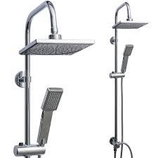 Rapid Teck Edelstahl Regendusche Komplett Set Duschsystem Mit Handbrause