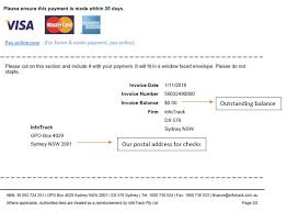 How To Keep Track Of Invoices And Payments Billing Payments Infotrack