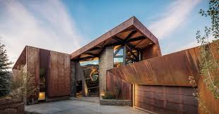 Cor ten steel Atmospheric Corrosion Corten Steel Retreat By Skylab Architecture Frames 360 Views Of The Colorado Mountains Alibaba Corten Steel Retreat By Skylab Architecture Frames 360 Views Of The