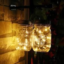 Mini Jar Lights Amazon Com Liping Solar Mason Jar Lid Insert Led Wire