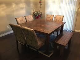 rustic dining table diy. full image for diy dining table bench plans corner rustic