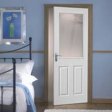 interior clear glass door. Moulded 2P/1L White Primed \u0026 Preglazed With Clear Safety Glass Interior Door D