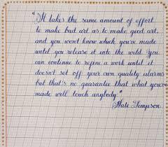 Handwritting Practice Copperplate Handwriting Practice 2 Secret Smart Scripter