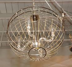 modern paul marra design metal sphere chandelier for