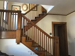 best paint color for dark wood trim and stairs with painting doors and trim diffe colors