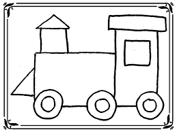 Small Picture Train Coloring Pages Toddlers Realistic Gekimoe 13636