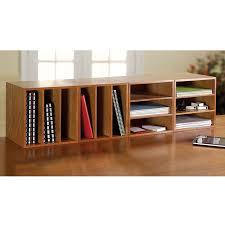 cubi desk bookcase natural cherry
