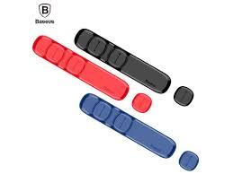 <b>Baseus Peas Cable Clip</b> Black – Axialtek