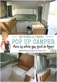 ing a used pop up camper