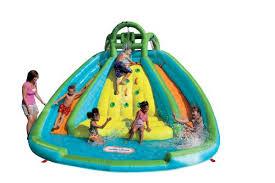 Backyard Pool Water Slides  Pool Design IdeasWater Slides Backyard