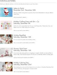 Store Events | Pottery Barn Kids