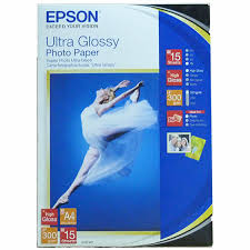41927 Глянцевая <b>фотобумага EPSON</b> Ultra <b>Glossy</b> Photo <b>Paper</b> A4