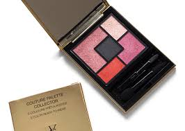 yves saint lau ysl the street and i couture palette collector review photos swatches