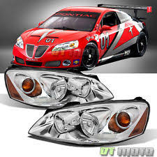 pontiac g6 parts fits 2005 2010 pontiac g6 replacement headlights headlamps pair set left right fits