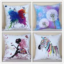 pillow drawing design. new design simple black white butterfly girl drawing sofa pillows/cushion throw pillow almofadas cojines