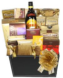 kahlua liquor gift basket toronto gift baskets gourmet corporate holiday canada s gift baskets