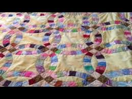 beginners quilt patterns free easy double wedding ring quilt - YouTube &  Adamdwight.com