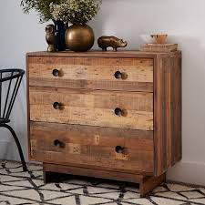 3 drawer wood dresser. Delighful Dresser Emmerson Reclaimed Wood 3Drawer Dresser  Natural In 3 Drawer W