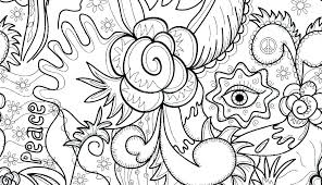 Abstract Coloring Sheets