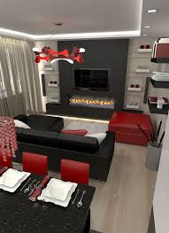 houzz living room furniture. Black And Red Living Room Home Decor Ideas Design   Houzz BC Furniture