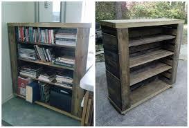 Bookshelf Filing Cabinet Pallet Bookshelf O Pallet Ideas O 1001 Pallets