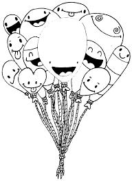 Palloncini Colorati Az Colorare